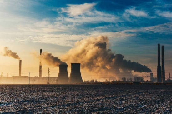 Industrial emission